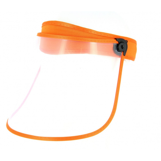 Visor Face Protector PVC Orange- Traclet