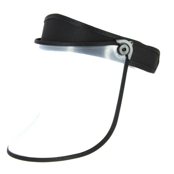 Visière Protège-Visage PVC Noire- Traclet