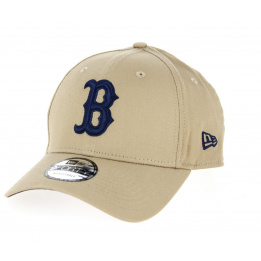 Casquette Baseball Snapback Boston Red Sox Taupe- New Era