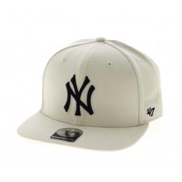 NY Yankees Cap White - 47 Brand