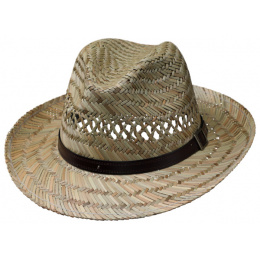 Chapeau Fedora Traun Paille Naturelle- Traclet