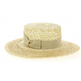 Matador Hat Natural Straw - Traclet
