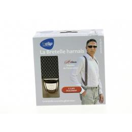 Biclip® Fancy Rhombus Khaki Biclip® Harness Straps