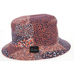 Chapeau Bob Blandine Coton Réversible Rose- Crambes