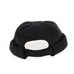 Bonnet Docker Laine Noir- Traclet