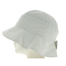 Chapeau Femme Réversible Zole Blanc- Mtm
