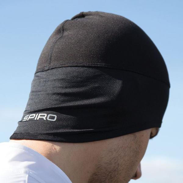 Bonnet Hiver Spiro Noir - Traclet