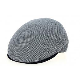 Amos Cotton & Linen Traclet Cap - Navy Blue