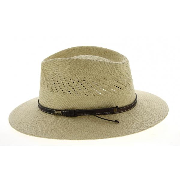 Chapeau Traveller Mindo Panama Naturel- Traclet