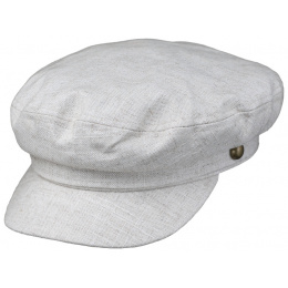Casquette Marin Coton & Lin Beige- Traclet