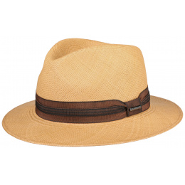 Chapeau Traveller Panama Kamarro Châtain- Stetson