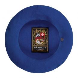 Authentic Summer Blue Cotton Beret - Heritage by Laulhère