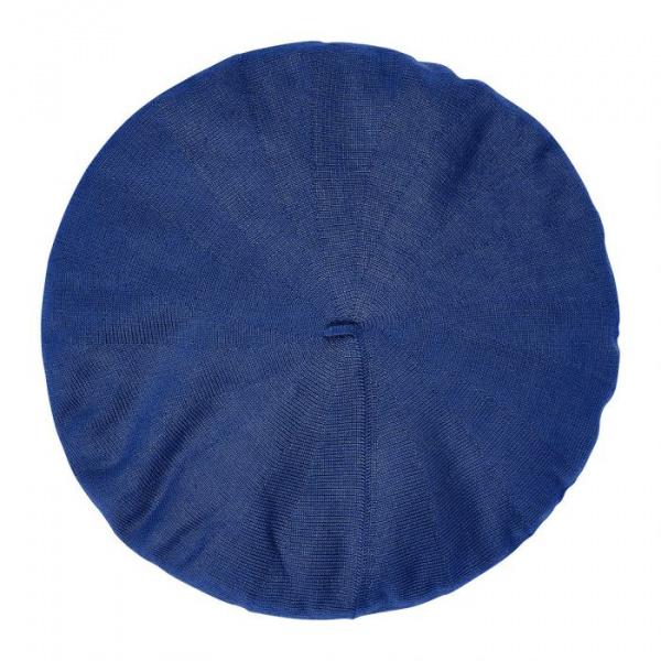 Béret Authentique Été Coton Bleu- Héritage par Laulhère