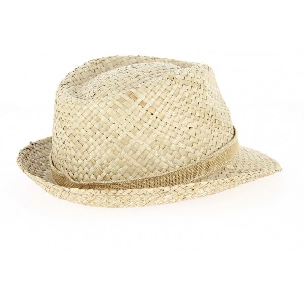 Chapeau de Paille Cyril Naturel - Traclet
