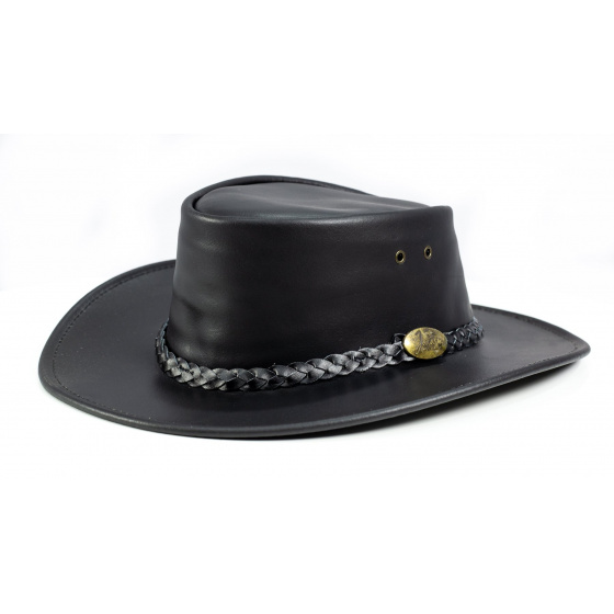 Australian hat Adventure Oil black - Jacaru