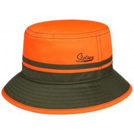 Chapeau Bob Orange Fluo & Kaki- Stetson