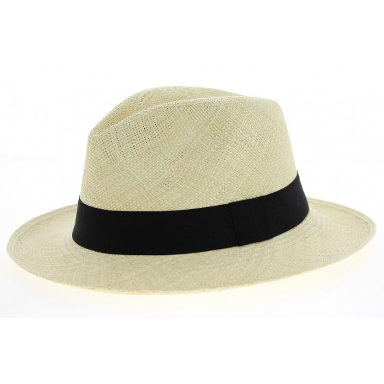 Chapeau Fedora Panama Baños Naturel- Traclet