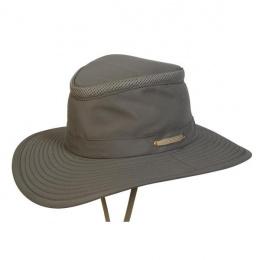 Olive Hooded Hide & Seek Hat - Traclet