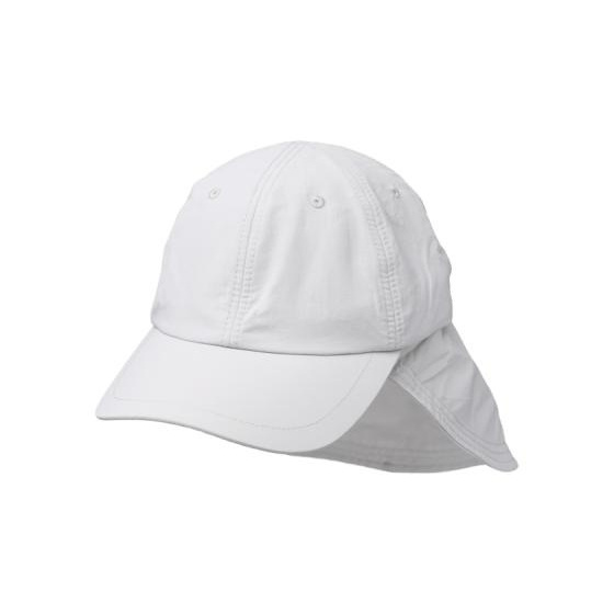 Casquette Cache-Nuque Nomade Blanche- Traclet