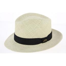 Chapeau Fedora Paille Naturelle Panama- Traclet