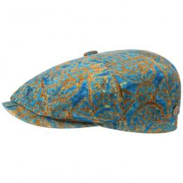 Casquette hatteras baroque velvet turquoise -Stetson