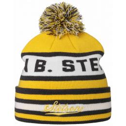 Yellow Acrylic Pompon Cap - Stetson