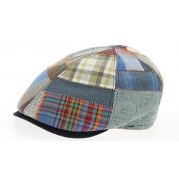 Linen & Cotton Patchwork- Traclet Duck's Beak cap