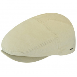 Beige Cotton Keter Plate Cap - Bailey