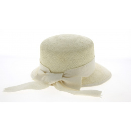 Casquette Guiditta Panama Blanchi Femme - Crambes