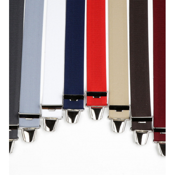 One-colour suspenders