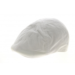 Duck's Beak Cotton Cap White - Göttmann