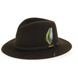 Stetson hat Newark brown
