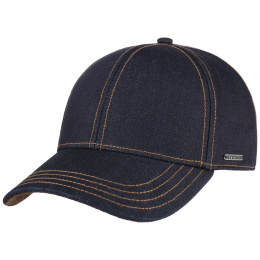 Baseball Cap Denim Cotton- Stetson
