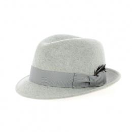 Chapeau Wynn Bailey Trilby gris