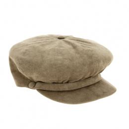 TRACLET gavroche cap in Alcantara