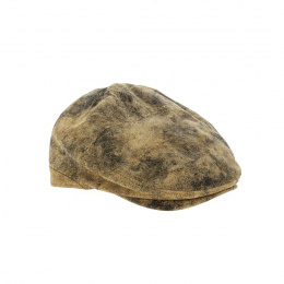Casquette Cuir vintage Oullins- Traclet