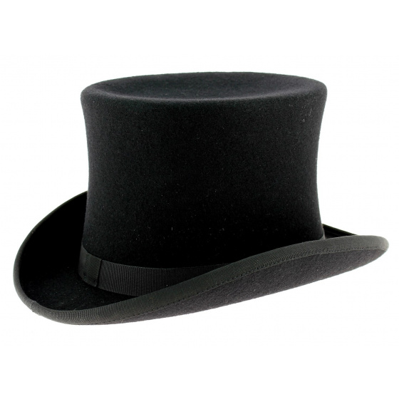 Top hat Felt Wool Black - Traclet