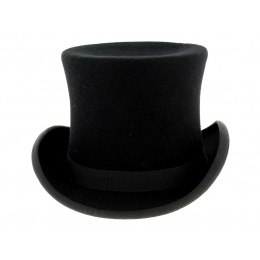 Top hat Felt Wool Black - Traclet