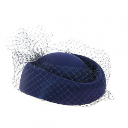EDY PARIS Hat Blue