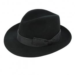 Chapeau feutre cachemire noir