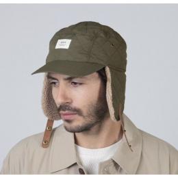 Casquette Aspen cache-oreilles Kaki - Barts