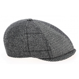 Casquette Vérone Hatteras Patchwork Laine Vierge - Traclet