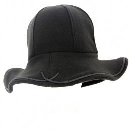 chapeau polaire marron- Traclet