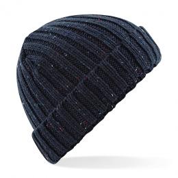 Bonnet bleu moucheté - Beechfield