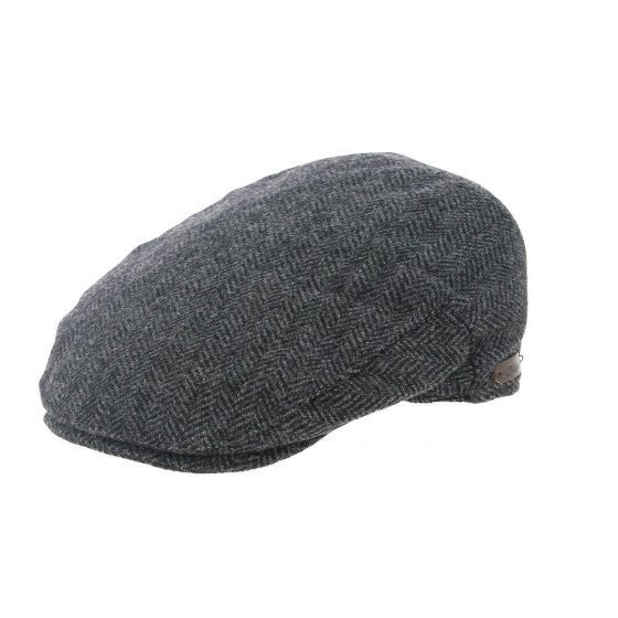 Casquette Wicklow plate Herrinbone Tweed - Traclet