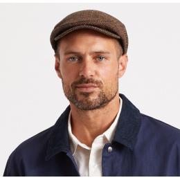 PATERN gray flat cap