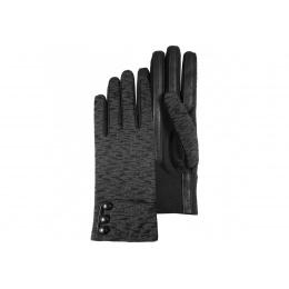 Gants noir imprimé - Isotoner