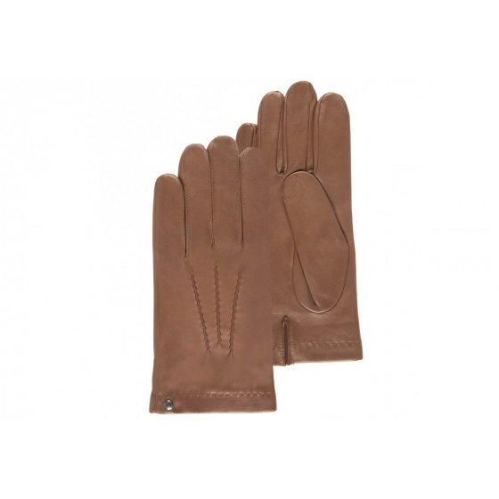 Leather gloves for men -Isotoner