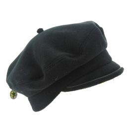 Béret casquette noir polaire - Traclet