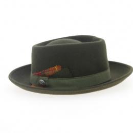 Green Taffta Hat for Women
